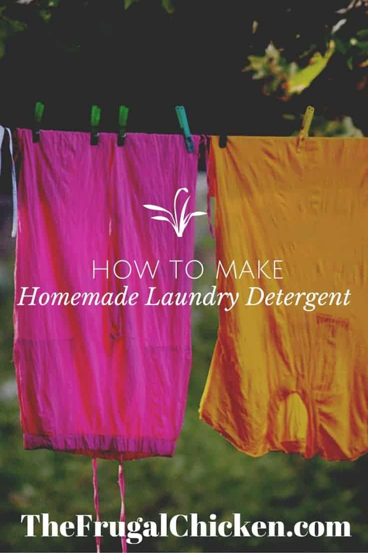 How to Make Laundry Detergent at Home