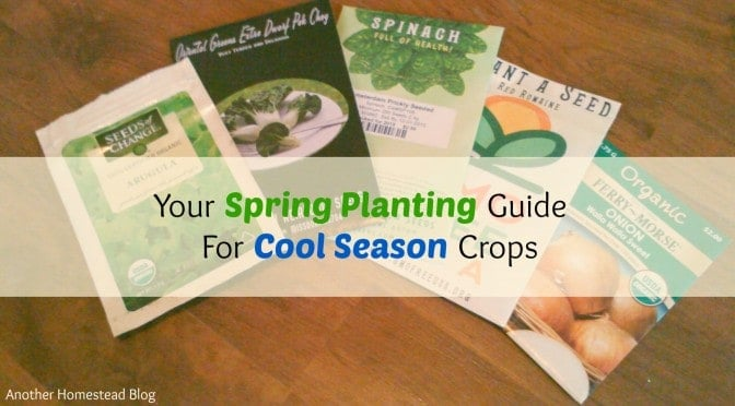 Spring crop guide