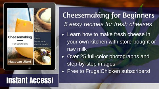 Cheesemaking for Beginners ad