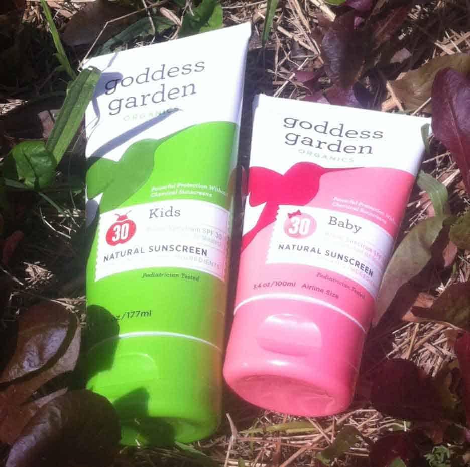 organic sunscreens