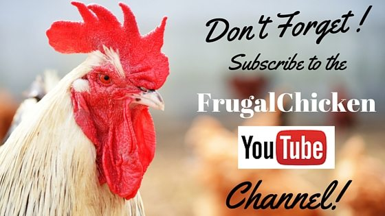 Frugal Chicken YouTube Channel