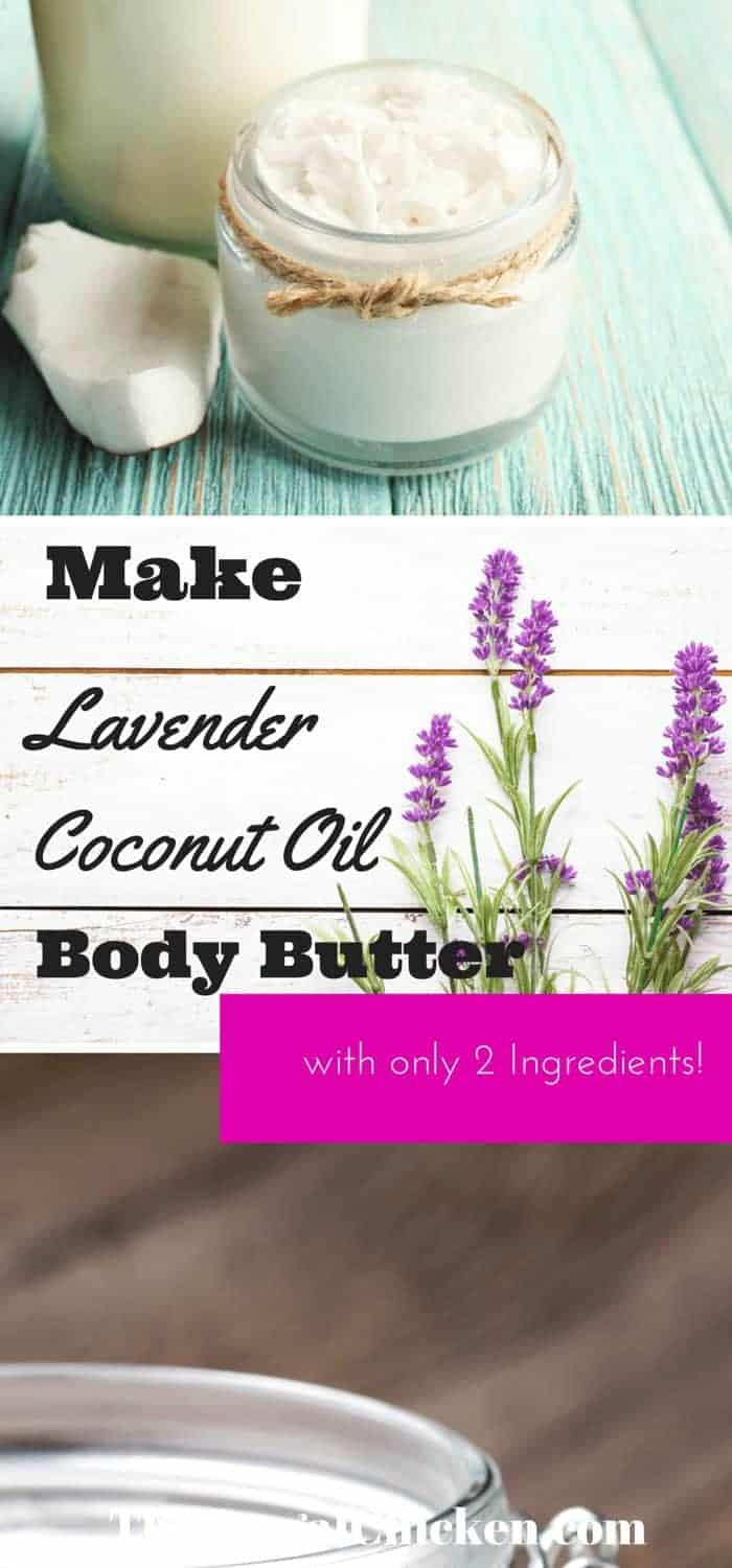 Raw & Organic Coconut Oil Lavender Whipped Body Butter You