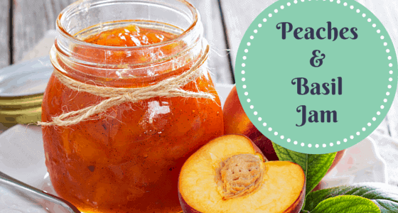 Celebrate summer's unique flavors with this peaches and basil jam. With just 3 ingredients, it will take you an hour to create fresh jam! From FrugalChicken