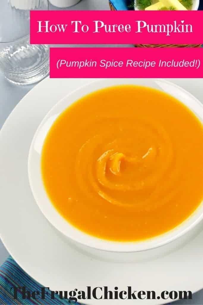 puree pumpkin and spice