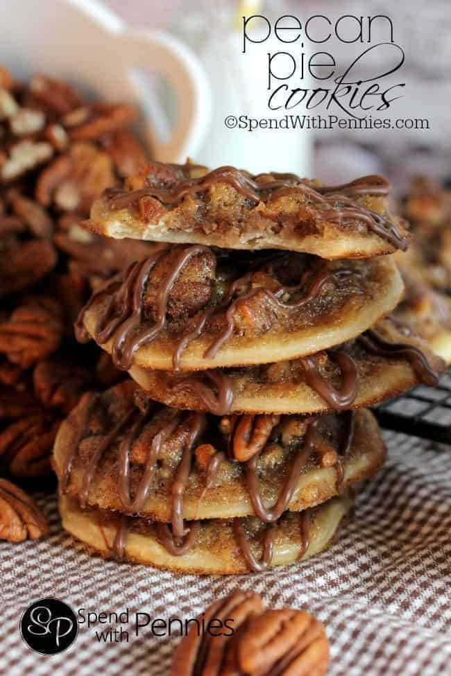 Holiday Pie, Pecan Pie Cookines