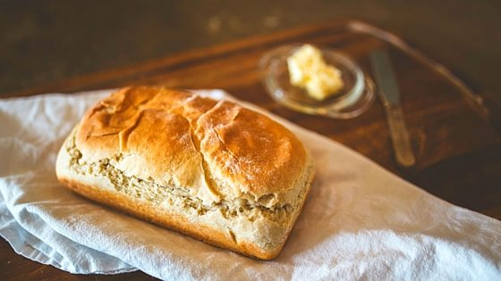 In this no-fail bread recipe, I walk you step-by-step so you can make your own loaves. Easy recipe that anyone can master. From FrugalChicken.