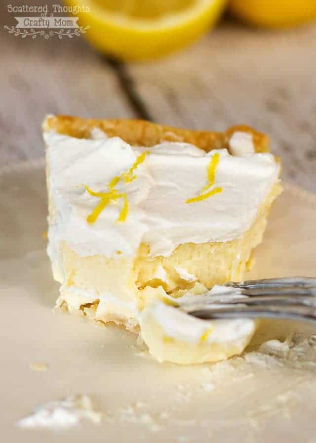 lemon and cheesecake pie
