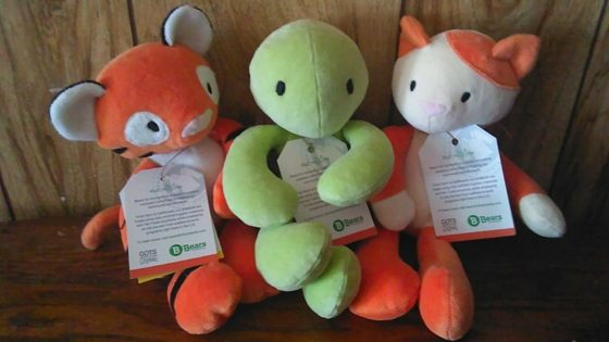 Bears For Humanity Organic Stuffed Animals Mean Sustainable Fun Time [Product Review]
