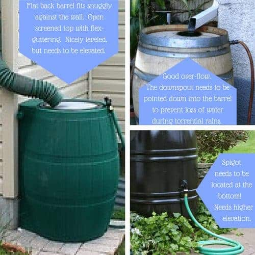 Harvest Water Off Grid With A Rain Barrel!