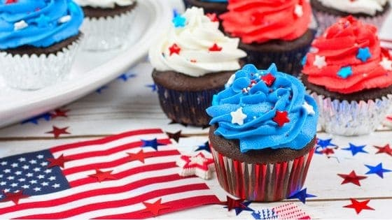 55+ July 4th (All-Natural & Organic) Red, White, & Blue Recipes