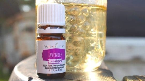 Want a great dessert to wow company? Try lavender syrup! You already have the ingredients!