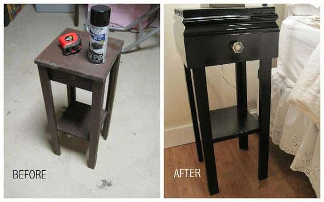 DIY Refurbished Nightstand You Can Make For $14