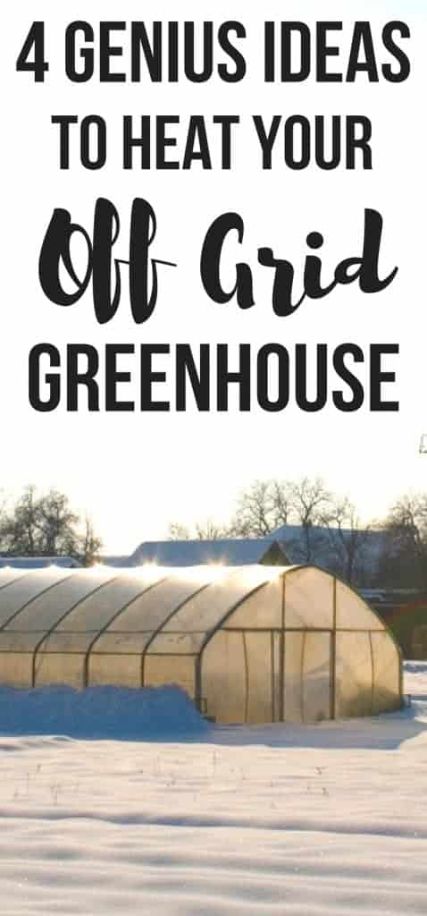 Wondering how to heat a greenhouse in winter? Here's 4 easy but genius ideas to heat a greenhouse without electricity! You can even heat a greenhouse with compost!