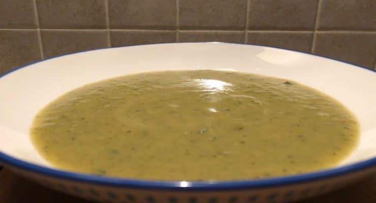 Liana's Easy Zucchini and Parmesan Soup Recipe For The Over-Abundant Garden!