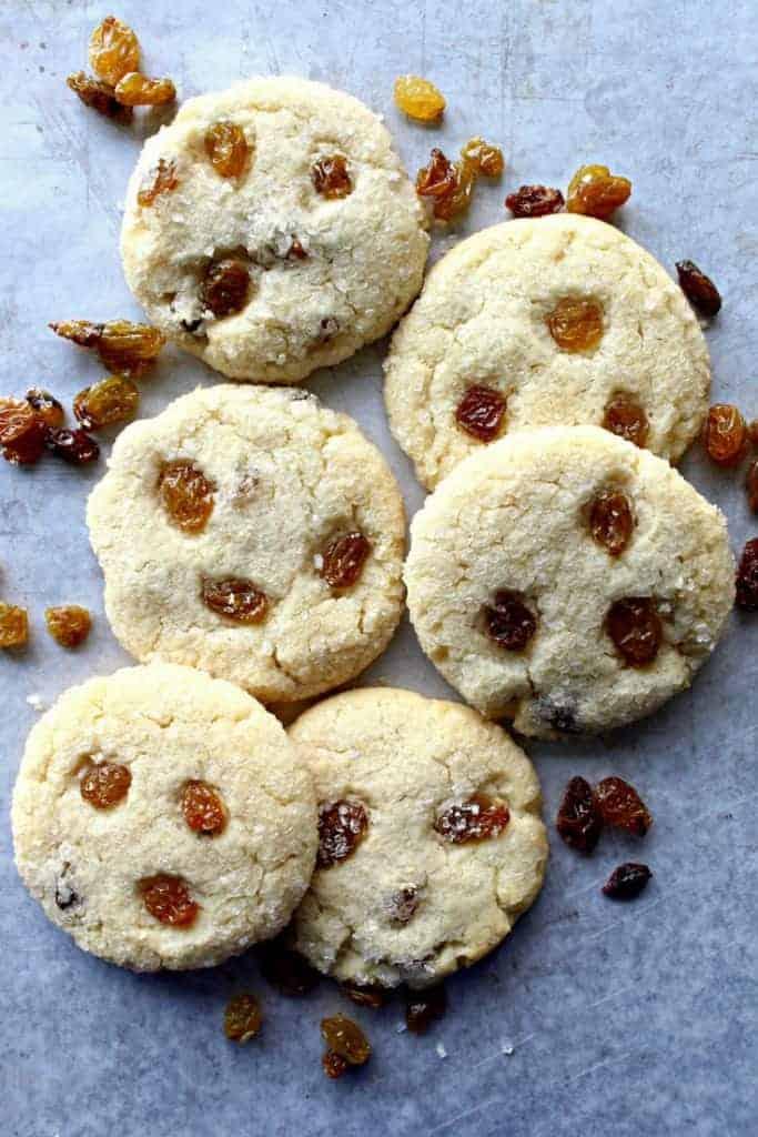 Amish Farmhouse Raisin Sugar Cookies Photo 1 683x1024