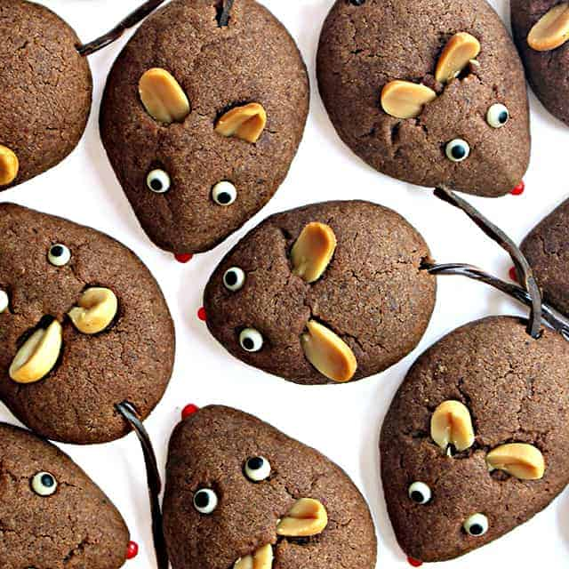 "Children's Book Read-and-Bake Series: Chocolate Cookie Mice for ""Frederick"" by Leo Lionni"