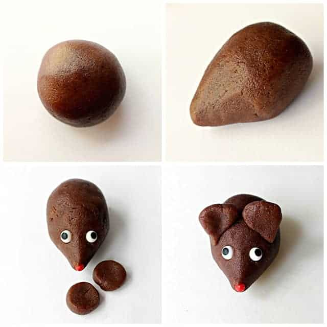 Photo 4 Chocolate Cookie Mouse Process