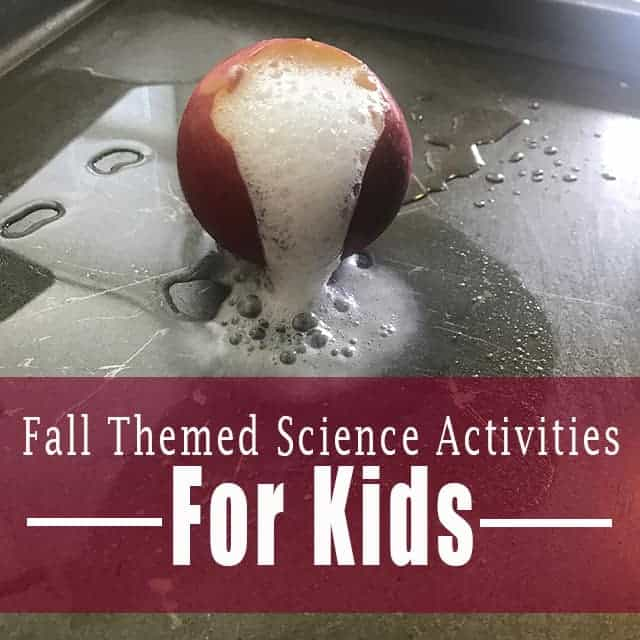 Crazy Fun Fall Themed Science Activities For Kids