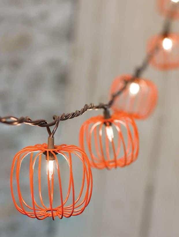 Pumpkin String Lights 2