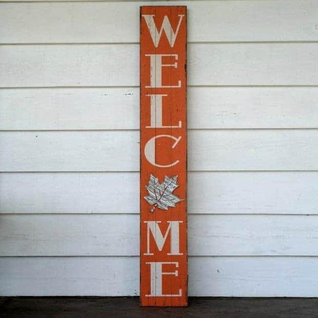 Welcome Front Door Sign 1