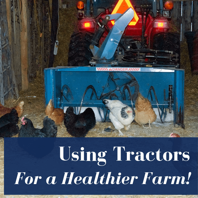 How A Tractor Can Be A Chicken Farmer's Best Friend