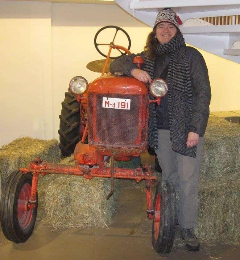 chicken farmer tractor