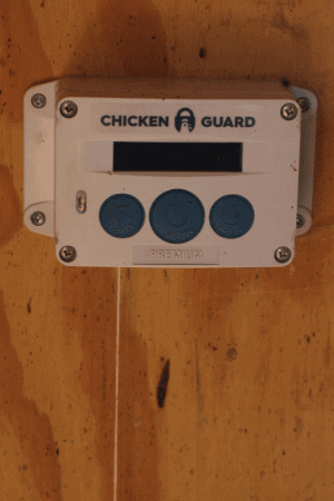chicken guard coop door opener