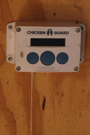 chicken guard coop door opener