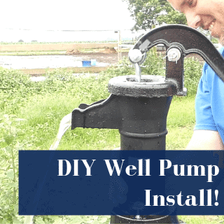 diy well pump