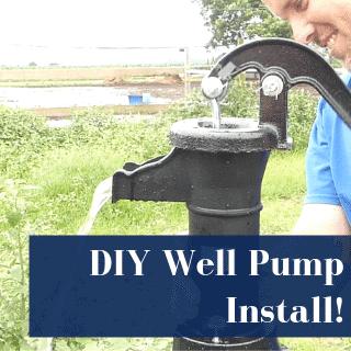 diy well pump