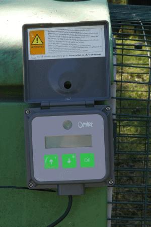 Omlet automatic coop door programming pad