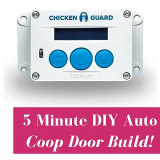DIY Automatic Coop Door With ChickenGuard