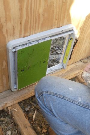 automatic coop door