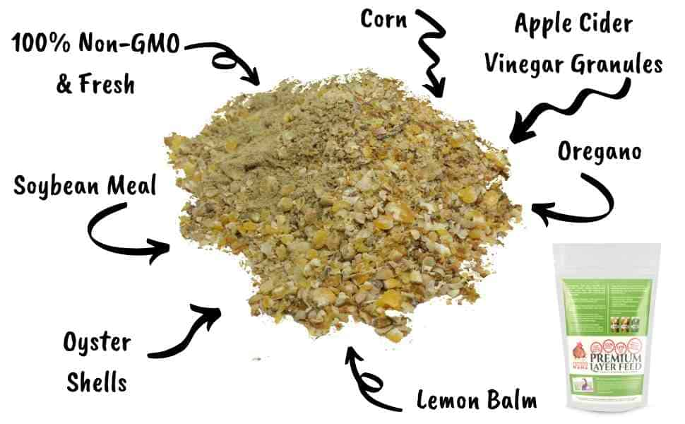 layer feed ingredient list