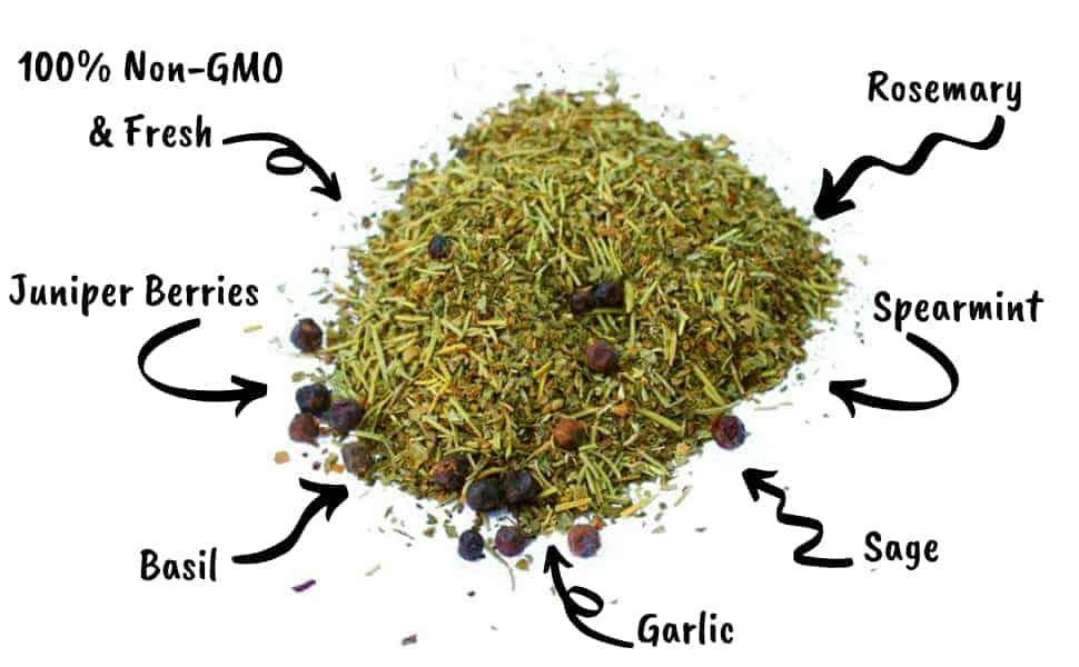 Mitesbgone nesting herbs